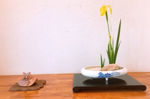 生け花教室へ!_f0139520_07581603.jpg