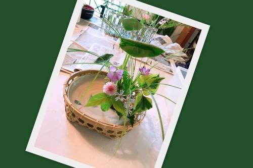生け花教室へ!_f0139520_07592061.jpg