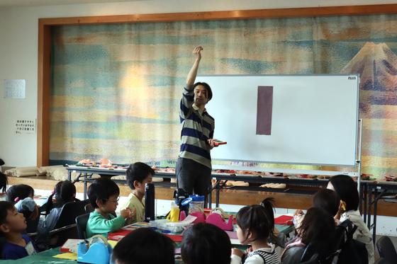 やと子ども美術教室 ~ たけのこ ~_e0222340_1505818.jpg
