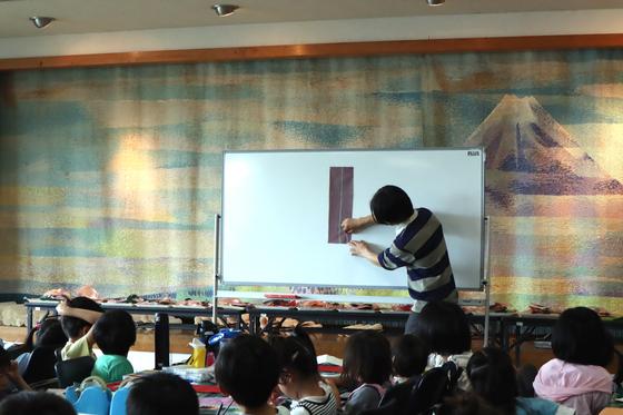 やと子ども美術教室 ~ たけのこ ~_e0222340_15121537.jpg