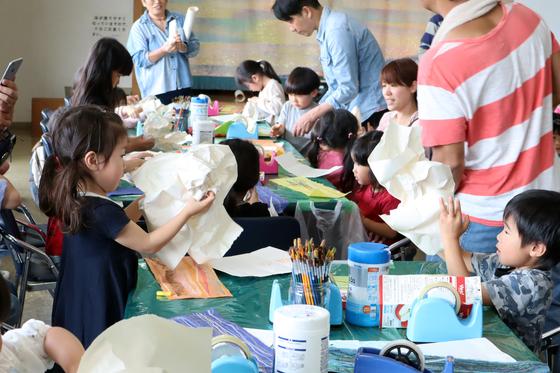 やと子ども美術教室 ~ たけのこ ~_e0222340_15142371.jpg