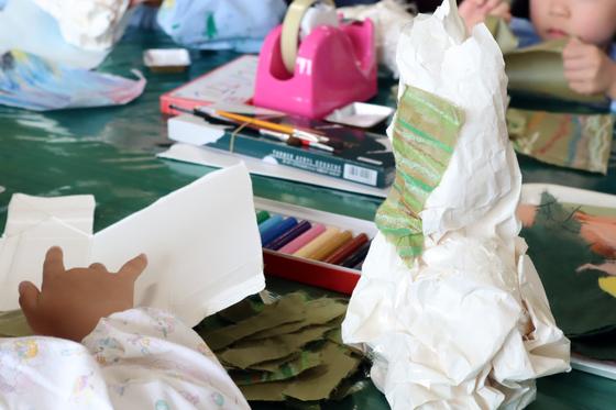 やと子ども美術教室 ~ たけのこ ~_e0222340_15322272.jpg