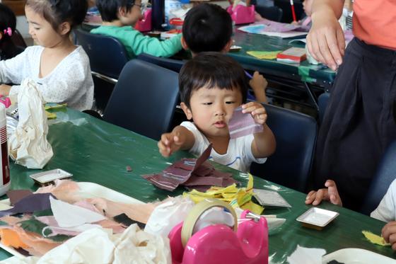 やと子ども美術教室 ~ たけのこ ~_e0222340_1532495.jpg