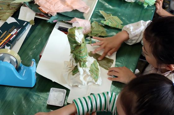 やと子ども美術教室 ~ たけのこ ~_e0222340_15334658.jpg