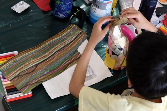 やと子ども美術教室 ~ たけのこ ~_e0222340_1534562.jpg