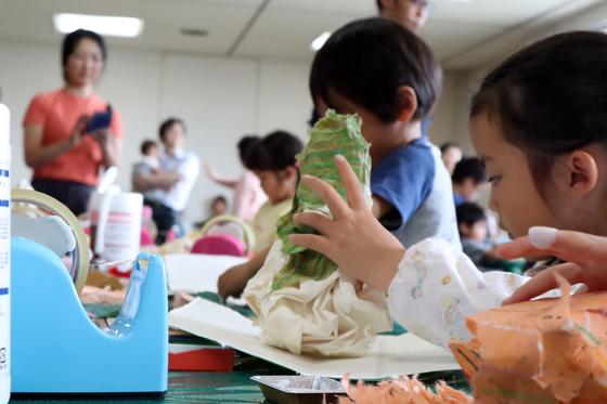 やと子ども美術教室 ~ たけのこ ~_e0222340_15345937.jpg
