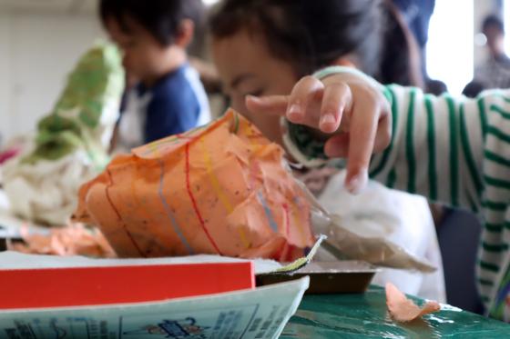 やと子ども美術教室 ~ たけのこ ~_e0222340_15352182.jpg