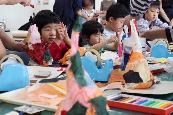 やと子ども美術教室 ~ たけのこ ~_e0222340_15354541.jpg