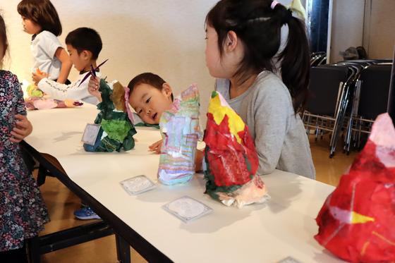 やと子ども美術教室 ~ たけのこ ~_e0222340_15375215.jpg