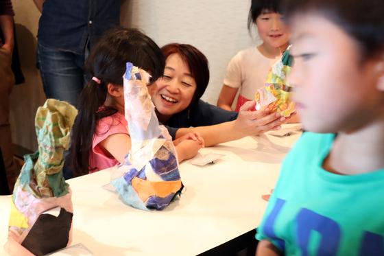 やと子ども美術教室 ~ たけのこ ~_e0222340_1539632.jpg