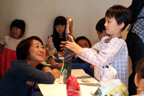 やと子ども美術教室 ~ たけのこ ~_e0222340_15413526.jpg