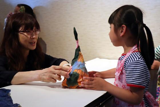 やと子ども美術教室 ~ たけのこ ~_e0222340_1541521.jpg