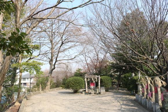 学園前の辻地蔵 ニンニキ_c0001670_14574980.jpg