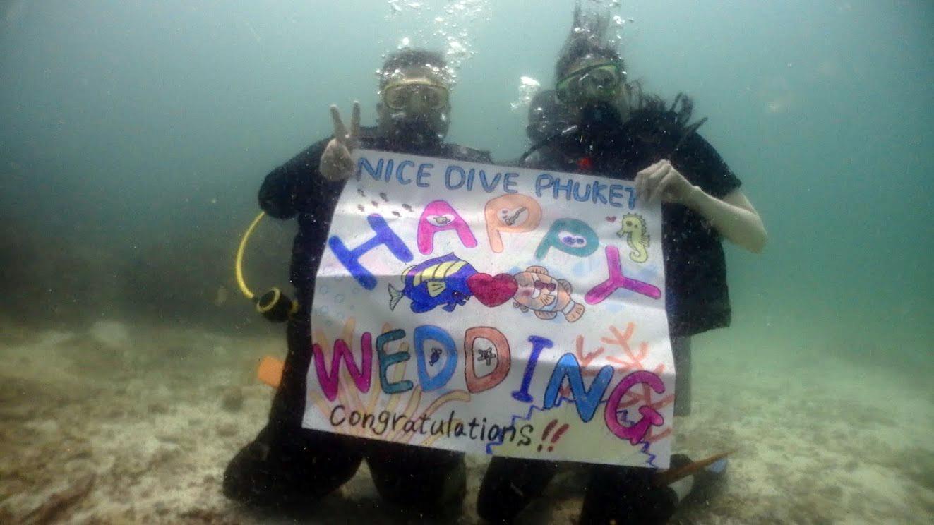 ♡HAPPY WEDDING♡ハネムーンダイビング(*^_^*)_f0144385_19391288.jpg