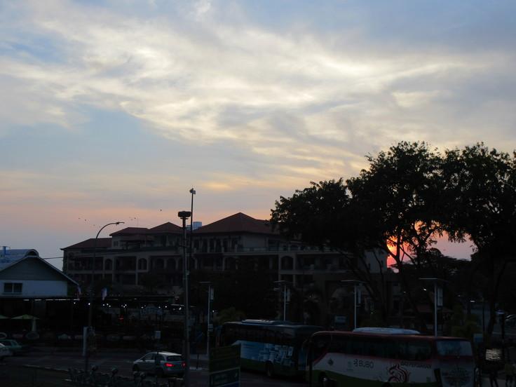マラッカの夕暮れ★オランダ広場★_c0212604_22301793.jpg