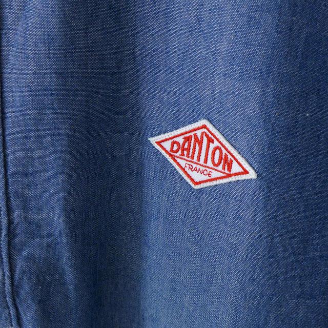 DANTON [ダントン] M\'s S/S CHAMBRAY SHIRTS [JD-3569COC] 半袖オックスフォードシャツ・シャンブレーシャツ MEN\'S_f0051306_10103054.jpg