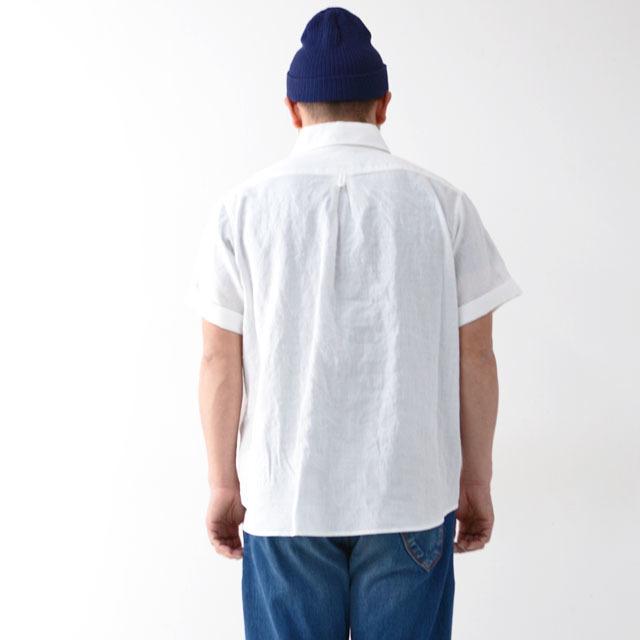 DANTON [ダントン] M\'s S/S LINEN CLOTH SHIRTS [JD-3569KLS] 半袖オックスフォードシャツ MEN\'S_f0051306_10133611.jpg