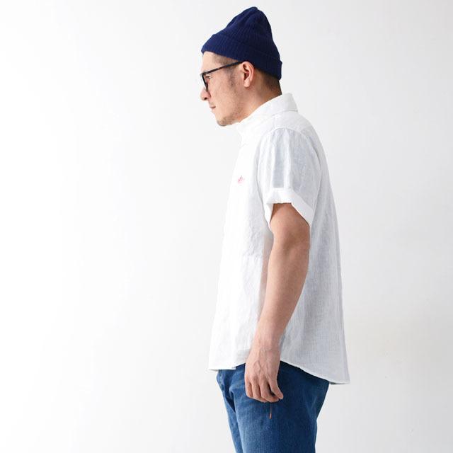 DANTON [ダントン] M\'s S/S LINEN CLOTH SHIRTS [JD-3569KLS] 半袖オックスフォードシャツ MEN\'S_f0051306_10133624.jpg
