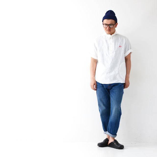 DANTON [ダントン] M\'s S/S LINEN CLOTH SHIRTS [JD-3569KLS] 半袖オックスフォードシャツ MEN\'S_f0051306_10133704.jpg