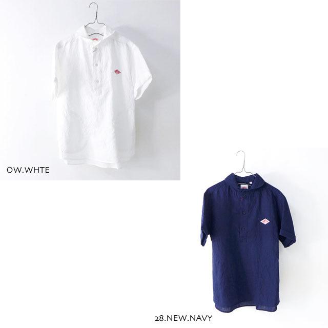 DANTON [ダントン] M\'s S/S LINEN CLOTH SHIRTS [JD-3569KLS] 半袖オックスフォードシャツ MEN\'S_f0051306_10133727.jpg