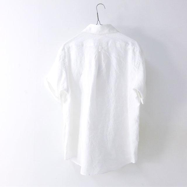 DANTON [ダントン] M\'s S/S LINEN CLOTH SHIRTS [JD-3569KLS] 半袖オックスフォードシャツ MEN\'S_f0051306_10142274.jpg
