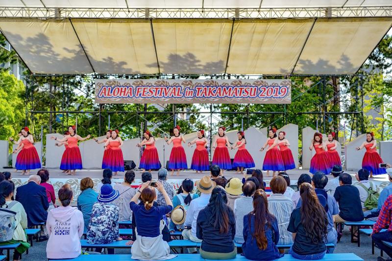アロハフェスティバル in TAKAMATSU ④ メインステージ_d0246136_19280474.jpg