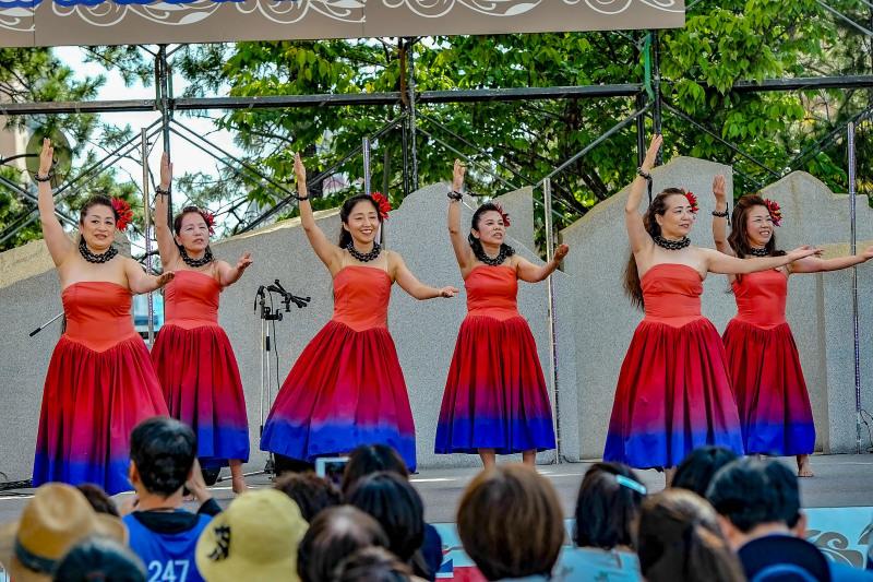 アロハフェスティバル in TAKAMATSU ④ メインステージ_d0246136_19284659.jpg