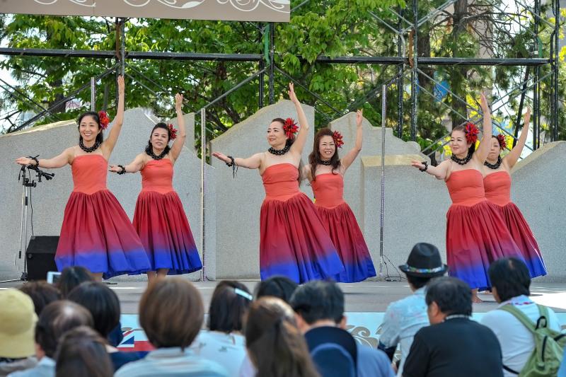アロハフェスティバル in TAKAMATSU ④ メインステージ_d0246136_19285448.jpg
