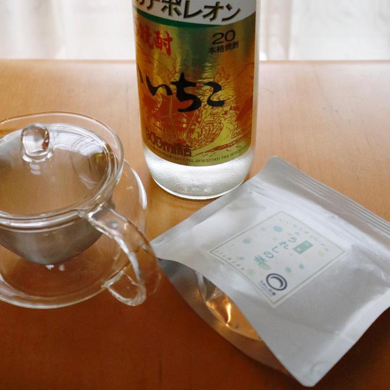 いいちこのお茶割り、夏にぴったり #いいちこアンバサダー_c0060143_10575779.jpg