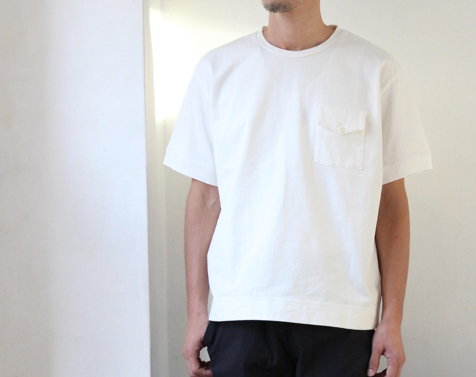 Heavy Oz Cotton Wide T-shirt_c0379477_21322108.jpg