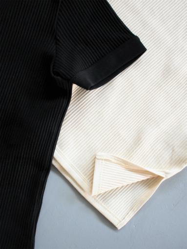 THE HINOKI オーガニックコットン 針抜きスムース ハーフスリーブTシャツ (LADIES ONLY)_b0139281_1002744.jpg
