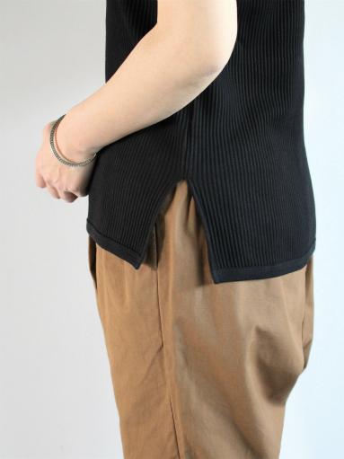 THE HINOKI オーガニックコットン 針抜きスムース ハーフスリーブTシャツ (LADIES ONLY)_b0139281_1004090.jpg