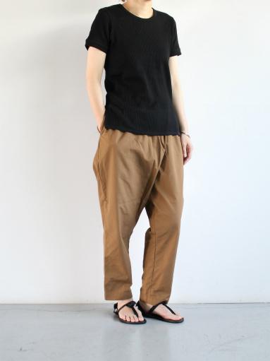 THE HINOKI オーガニックコットン 針抜きスムース ハーフスリーブTシャツ (LADIES ONLY)_b0139281_1012927.jpg