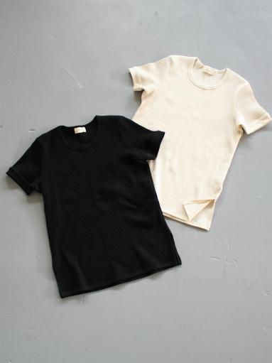 THE HINOKI オーガニックコットン 針抜きスムース ハーフスリーブTシャツ (LADIES ONLY)_b0139281_9591812.jpg