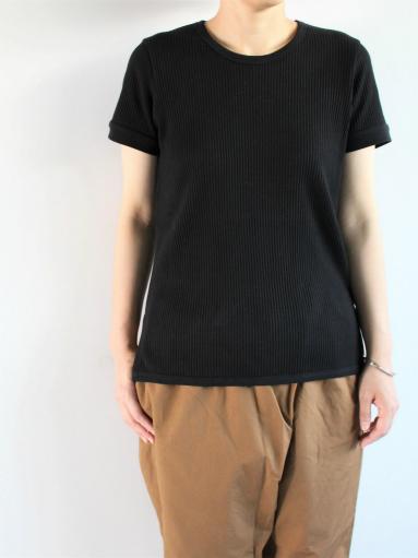 THE HINOKI オーガニックコットン 針抜きスムース ハーフスリーブTシャツ (LADIES ONLY)_b0139281_959319.jpg