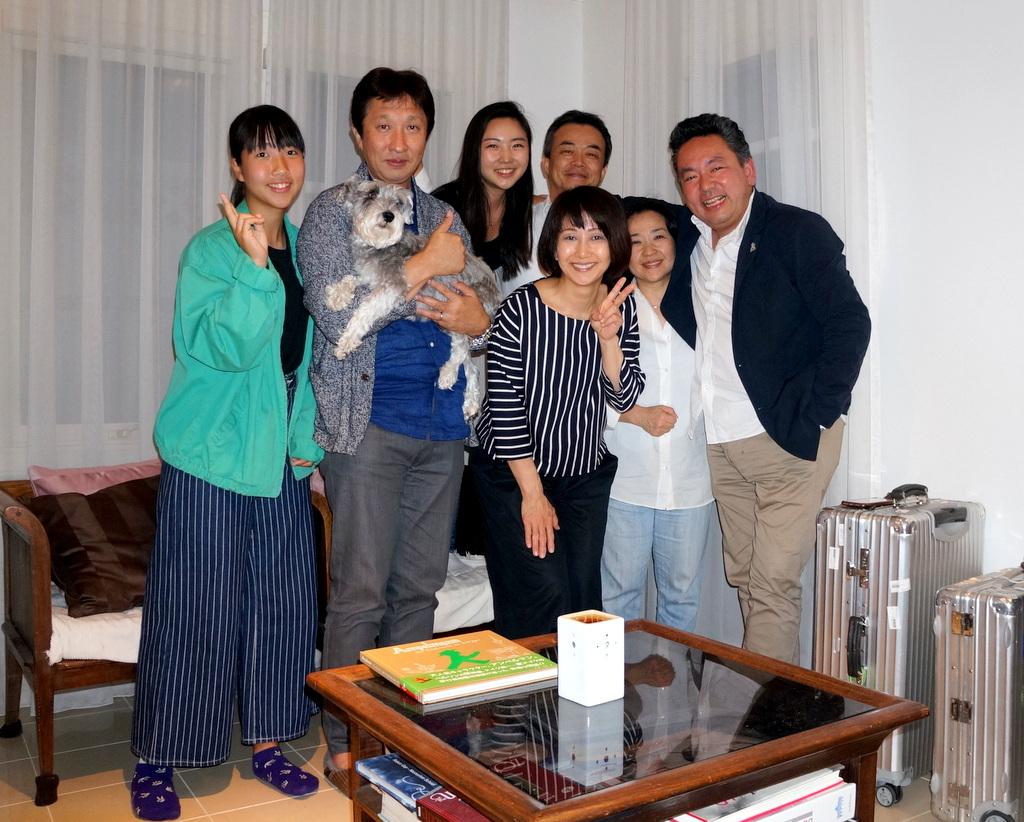 稲村のK元邸で 5/4_c0180686_17513702.jpg