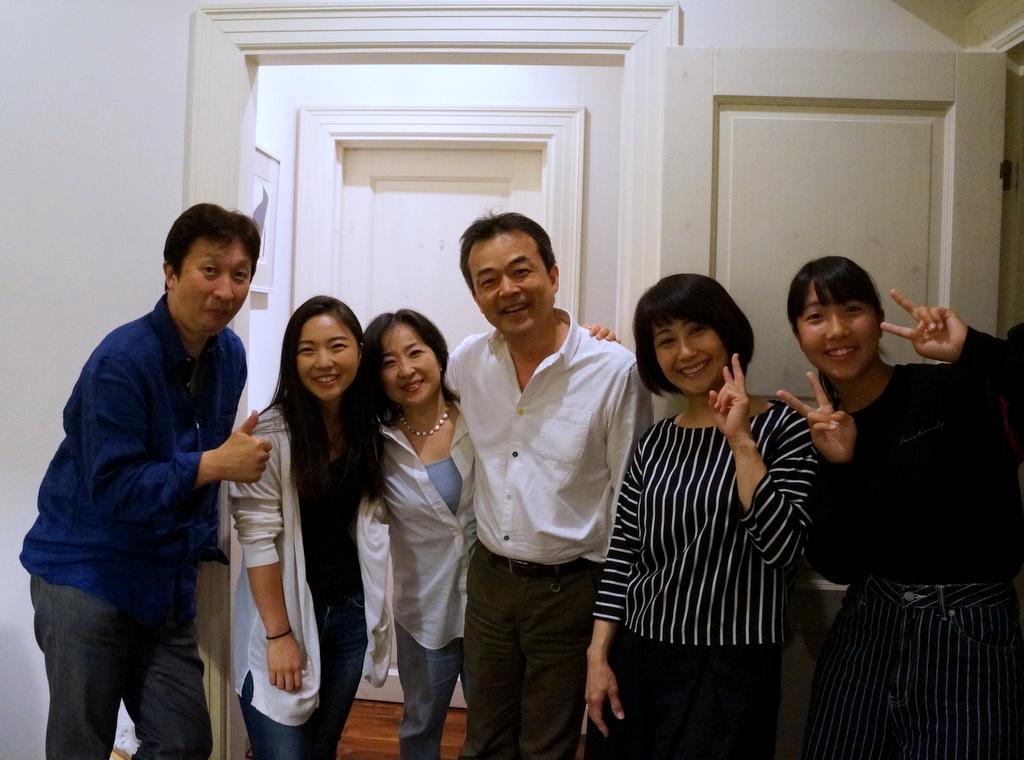 稲村のK元邸で 5/4_c0180686_18000068.jpg