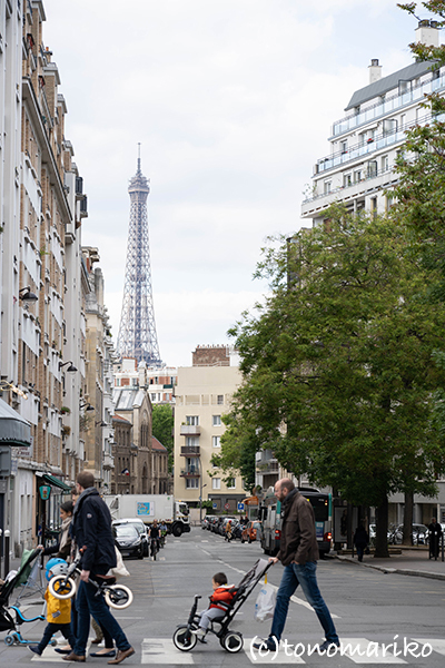 まだまだ真冬のパリのバブー散歩_c0024345_23004012.jpg