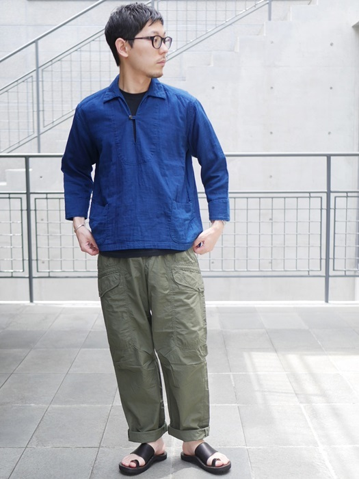 KATO\' Wガーゼシャツ&ツータックバルーンパンツ_e0247148_15090214.jpg