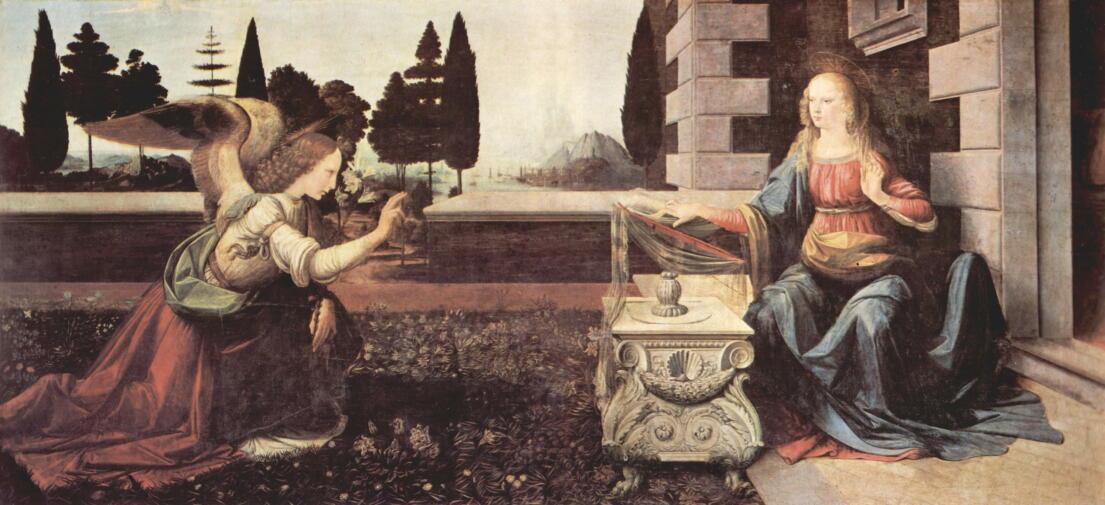 『受胎告知』 高校生のための5分間美術史 No.2_d0023170_12042072.jpg