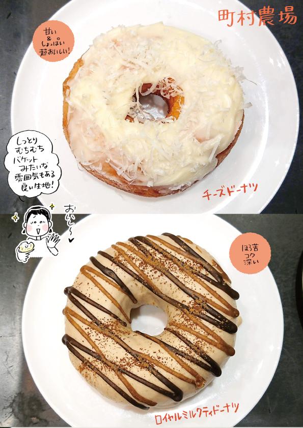 【札幌】町村農場のドーナツ3種【チーズドーナツ最高!また食べたい!】_d0272182_21360508.jpg