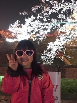 夜桜見物 岸和田城で 超!観光気分~♪_e0123286_19272451.jpg