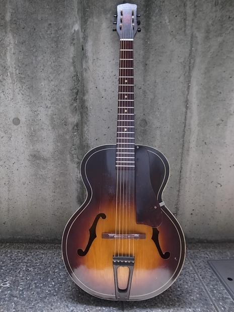1945年製HARMONY F45/H1215ハーモニー・アーチドトップギターMade in USA Chicago_f0197703_12004846.jpg