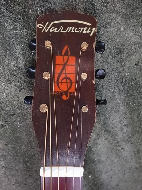 1945年製HARMONY F45/H1215ハーモニー・アーチドトップギターMade in USA Chicago_f0197703_12090464.jpg