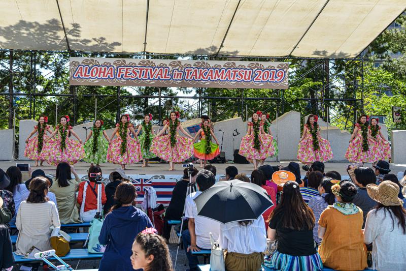アロハフェスティバル in TAKAMATSU メインステージ①_d0246136_18272540.jpg