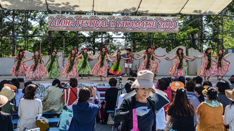 アロハフェスティバル in TAKAMATSU メインステージ①_d0246136_18272935.jpg