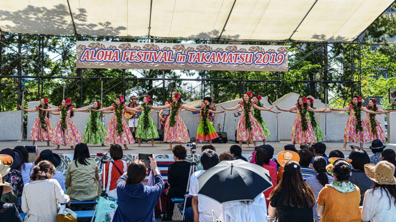 アロハフェスティバル in TAKAMATSU メインステージ①_d0246136_18273394.jpg