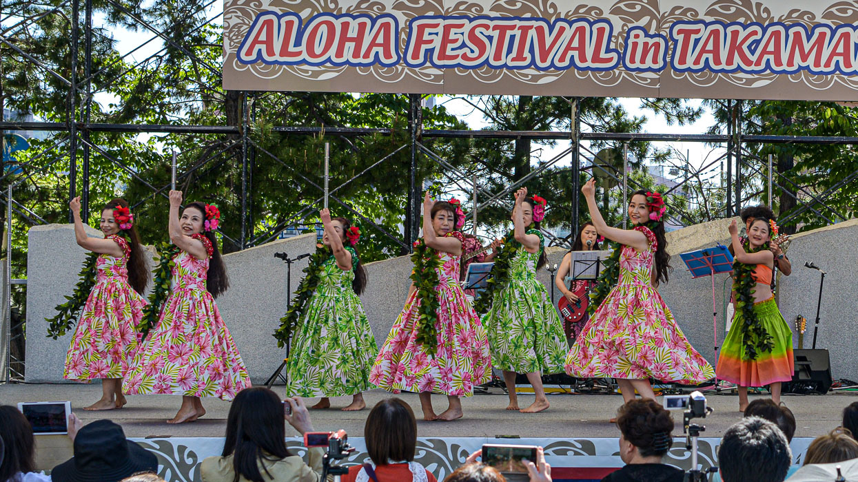 アロハフェスティバル in TAKAMATSU メインステージ①_d0246136_18273603.jpg