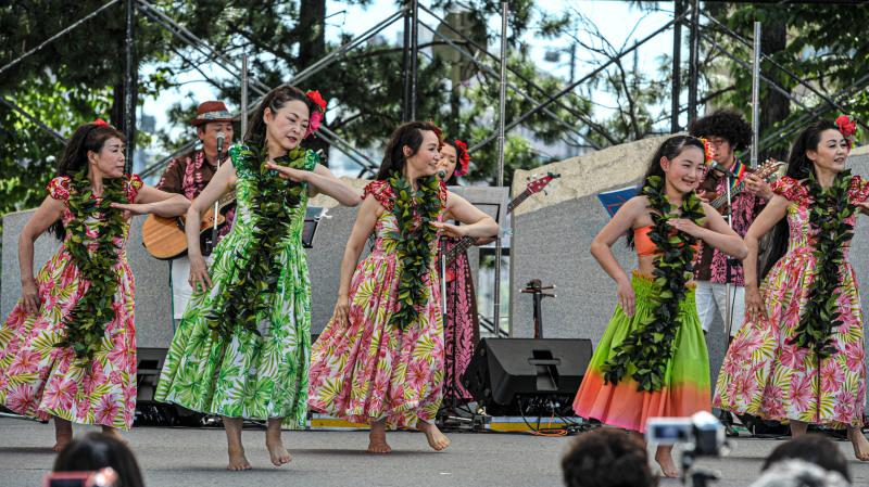 アロハフェスティバル in TAKAMATSU メインステージ①_d0246136_18275599.jpg