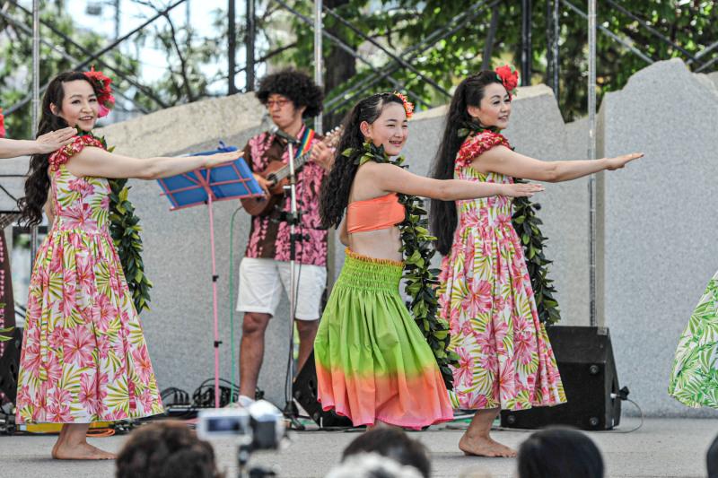 アロハフェスティバル in TAKAMATSU メインステージ①_d0246136_18280510.jpg